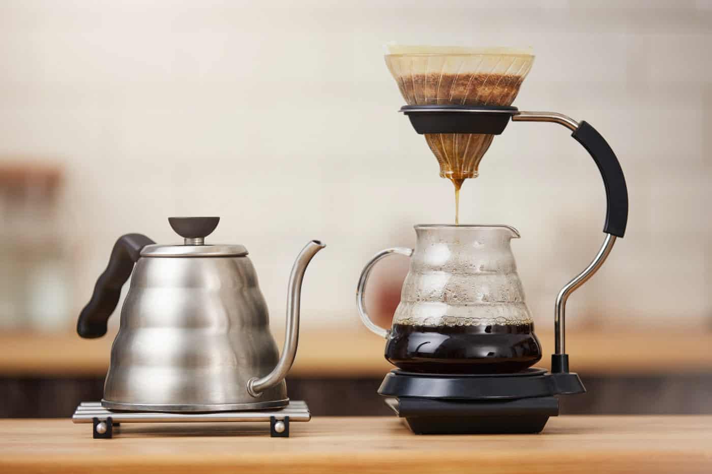 Kaffee-Einlauf zur Entgiftung des Körpers